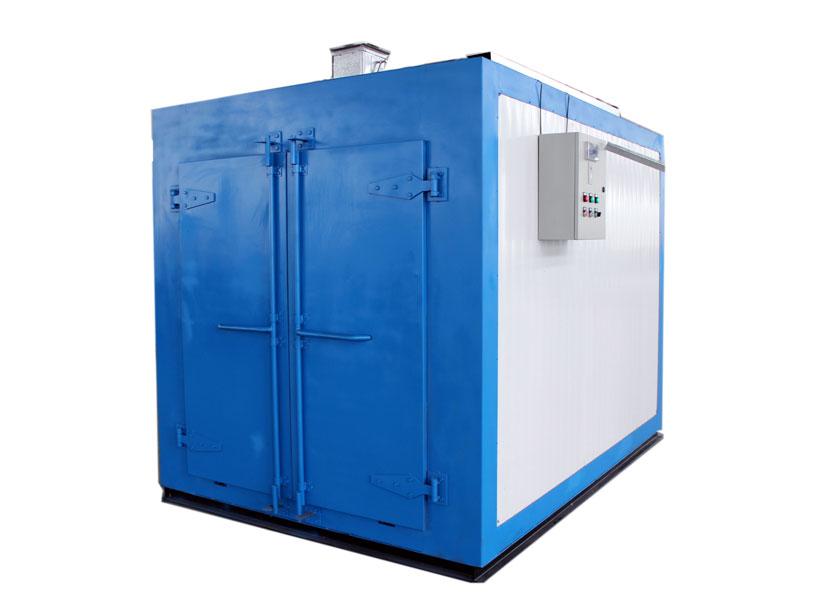 双开门通道式电加热工业涂装烤箱/电烘箱